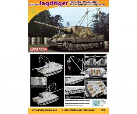 carson 1:72 Sd.Kfz.186 Jagdtiger Henschel Prod.