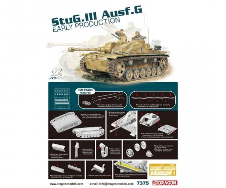 carson 1:72 StuG.IIIAusf.G EarlyProd.w/NeoTruck