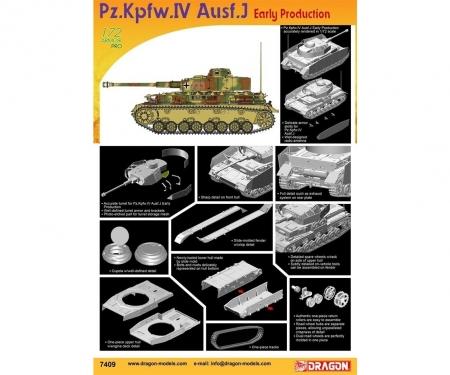 carson 1:72 Pz.Kpfw.IV Ausf.J Early Production