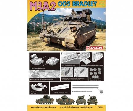 carson 1:72 M3A2 ODS Bradley