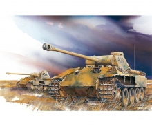 carson 1:72 Sd.Kfz.171 Panther Ausf.D (2 in 1)