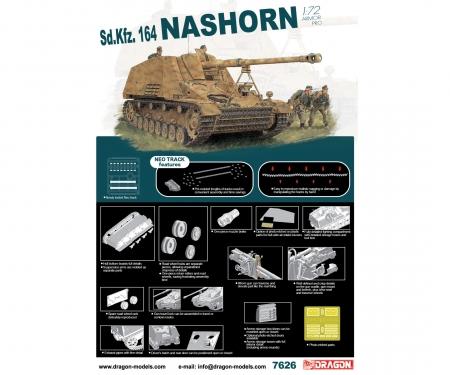 carson 1:72 Sd.Kfz.164 Nashorn w/NEO Track
