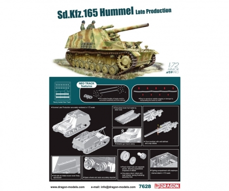 carson 1:72 Sd.Kfz.165 Hummel Late Prod.w/NEO T