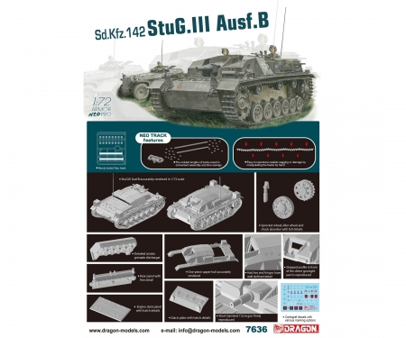 carson 1:72 StuG.III Ausf.B w/Neo Track
