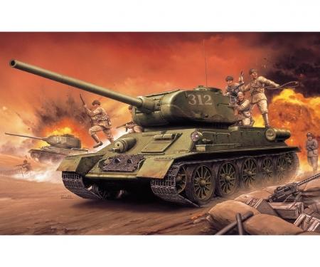 carson 1:72 Chinese Volunteer T-34/85