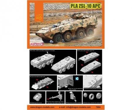 carson 1:72 PLA ZSL-10 APC