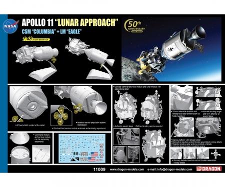 """carson 1:48 Apollo11""""Luna Approach""""CSM""""Columbia"""