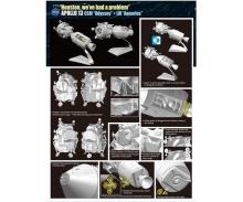 carson 1:72 Apollo 13 CSM&LM (50th Anniversary)