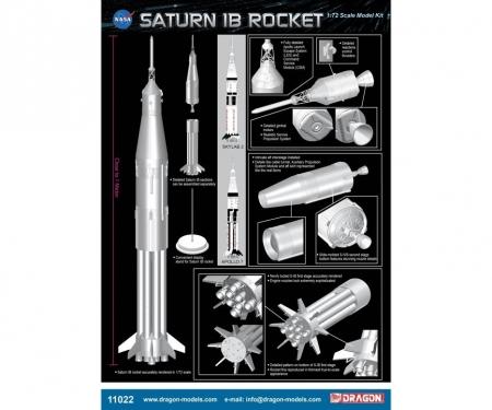 carson 1:72 Saturn IB Rocket