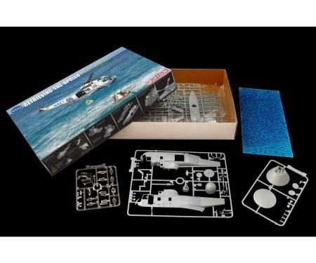 "carson 1:72 ApolloRecovery SH-3D""Helo 66""& C.M."