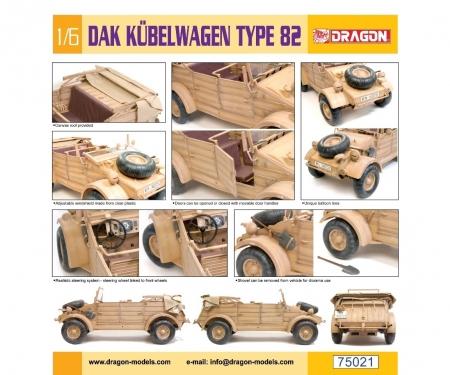carson 1:6 DAK Kübelwagen Type 82