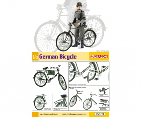 carson 1:6 German Bicycle
