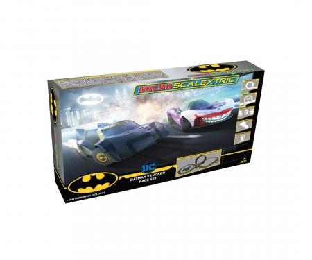 carson 1:64 Micro Batman vs Joker Race Set Battery
