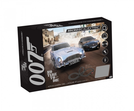 carson 1:64 Micro James Bond Race Set Battery
