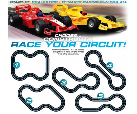 1:32 Sport Formula 1 Challenge Analog