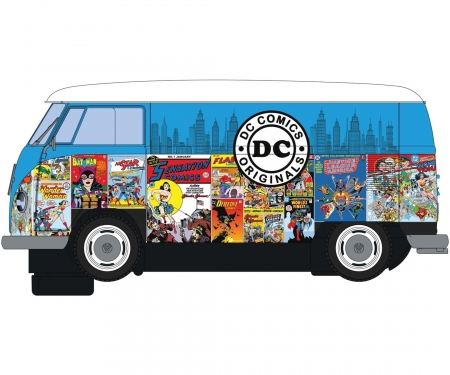 carson 1:32 VW Panel Van T1b  DC Comics 1st HD