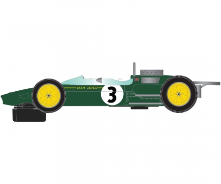 carson 1:32 Lotus 25 Monaco GP 1963 Brabham HD