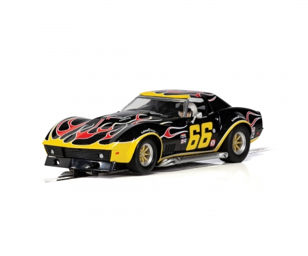 carson 1:32 Chevrolet Corvette #66 Flames HD