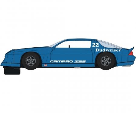 carson 1:32 Chevrolet Camaro IROC-Z Blue HD