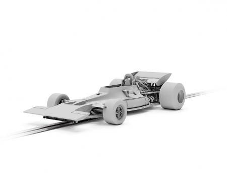 1:32 Tyrrell 001 Canadian GP70 HD