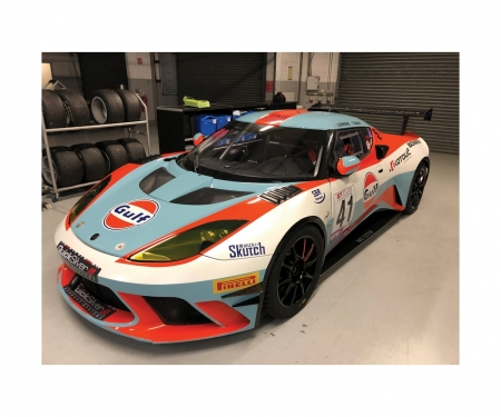 1:32 Lotus Evora - Gulf Edition HD