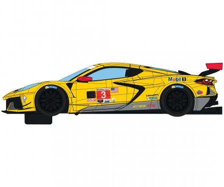 carson 1:32 Corvette C8R Daytona '20 Gelb #3 HD