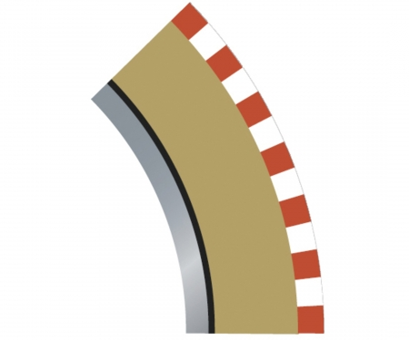 carson SPORT Randstreifen Kurve R2 inn. 45(4)