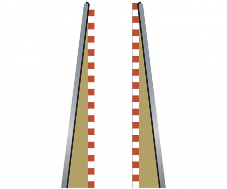 carson SPORT Lead in/Out Border Straight (2+2)