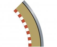 carson SPORT Randstreifen Kurve R1 aus. 45(4)