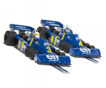 carson 1:32 Tyrrell P34 Swed. GP76 Twin Pack HD