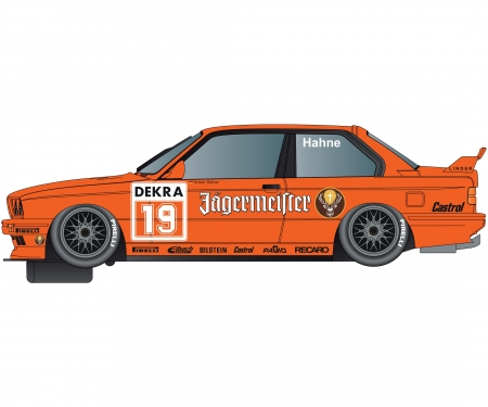 1:32 BMW E30 M3 Jagermeister Twin HD