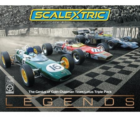 carson 1:32 Lotus F1 Triple Pack HD
