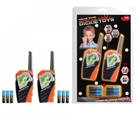 DICKIE Toys Walkie Talkie Voice Changer