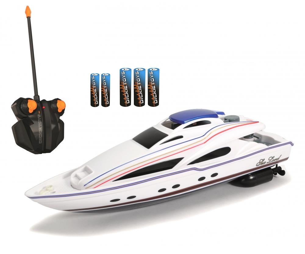 Spielzeugautos Jacht Streamliner Spielzeug Boot Dickie Toys