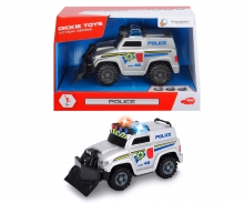 DICKIE Toys ACTION SERIES- VEHICULOS 15 CM, 4 SURT