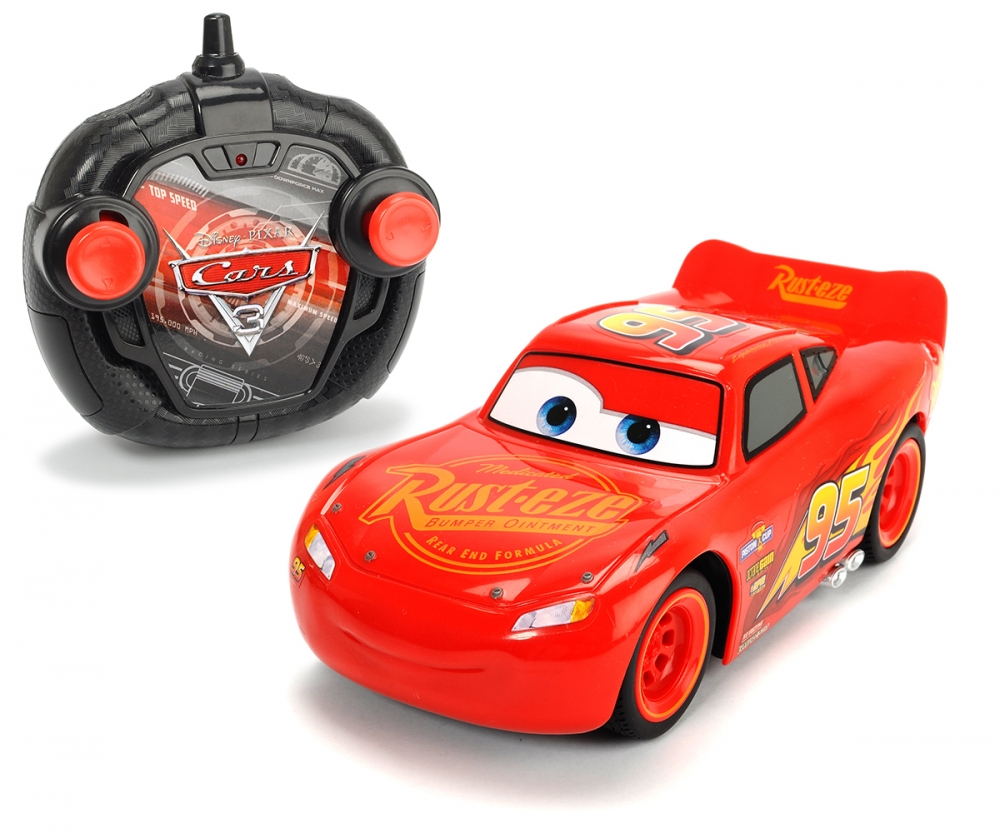 Rc cars 3 turbo racer lightning mcqueen cars licenses brands products - Auto flash mcqueen ...
