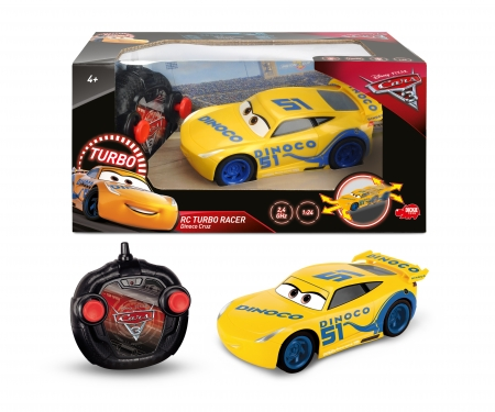 DICKIE Toys RC Cars 3 Turbo Racer Cruz Ramirez