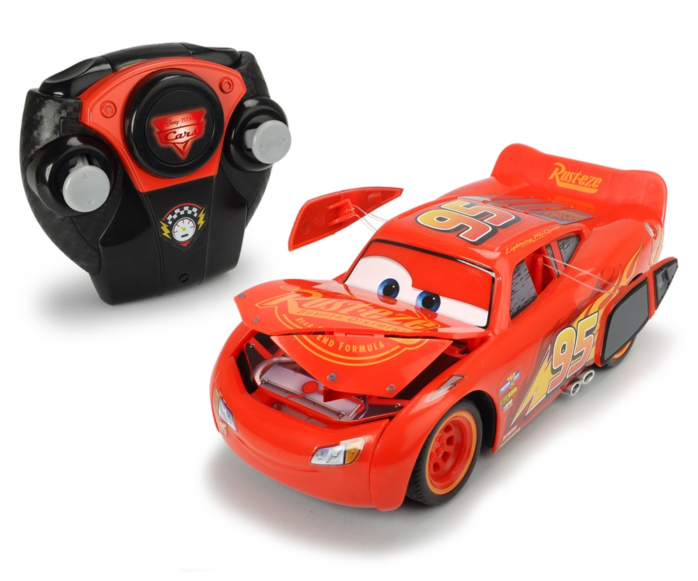Rc Crash Car Lightning Mcqueen Cars Helden Stars Marken