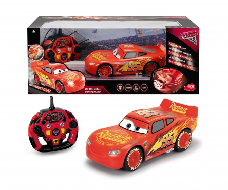 DICKIE Toys RC Cars 3 Ultimate Lightning McQueen 1:16