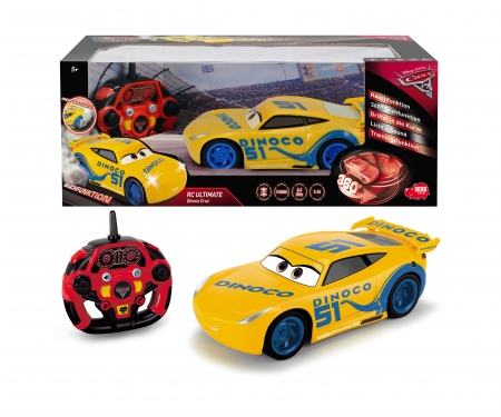 DICKIE Toys RC Cars 3 Ultimate Cruz Ramirez