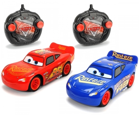 DICKIE Toys RC Cars 3 Twin Pack Lightning McQueen