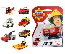 DICKIE Toys Feuerwehrmann Sam Single Pack 10-sort.