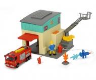 DICKIE Toys Sam Feuerwehr Station