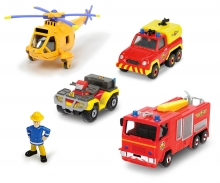 DICKIE Toys Fireman Sam Fire Rescue Team Set