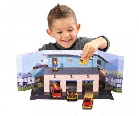 DICKIE Toys Feuerwehrmann Sam Fire Rescue Team Set