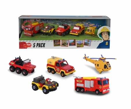 DICKIE Toys Firman Sam 5 Pack