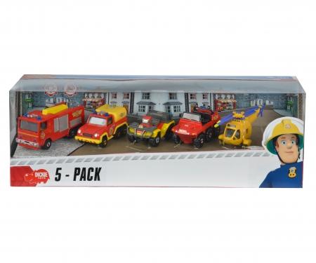 DICKIE Toys Fireman Sam 5 Pack