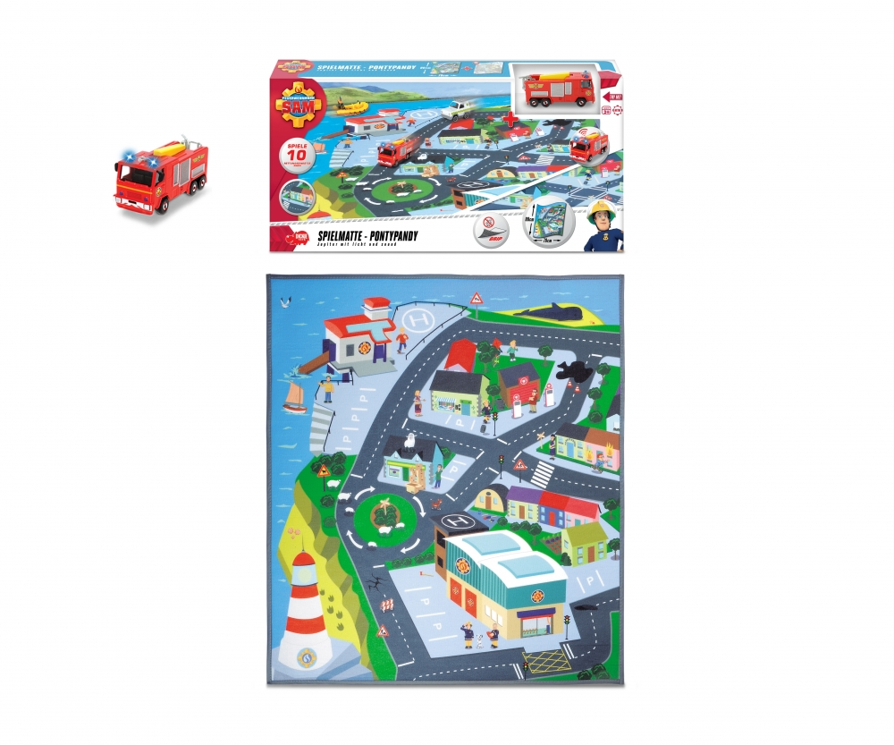 Fireman Sam Playmat Fireman Sam Licenses Brands