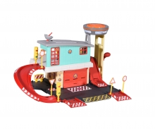 DICKIE Toys Caserne de Sam le pompier