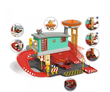 DICKIE Toys Sam Fire Station